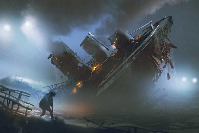 2 tiếng 40 phút là thời gian tàu Titanic hoàn toàn chìm xuống biển sau khi va phải một tảng băng trôi.