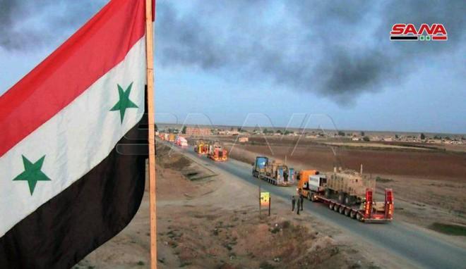 Xe quân sự Mỹ bị tấn công tới tấp, S-300, S-400 Nga tê liệt trên toàn lãnh thổ Syria - Ảnh 19.
