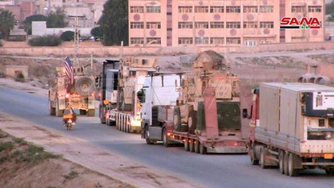 Xe quân sự Mỹ bị tấn công tới tấp, S-300, S-400 Nga tê liệt trên toàn lãnh thổ Syria - Ảnh 20.