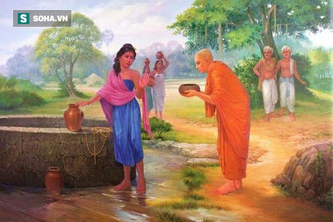 Môn đồ bị cô gái trẻ đẹp đeo bám, Đức Phật bảo cô gái làm 1 việc khiến cô gái từ bỏ ý định - Ảnh 1.