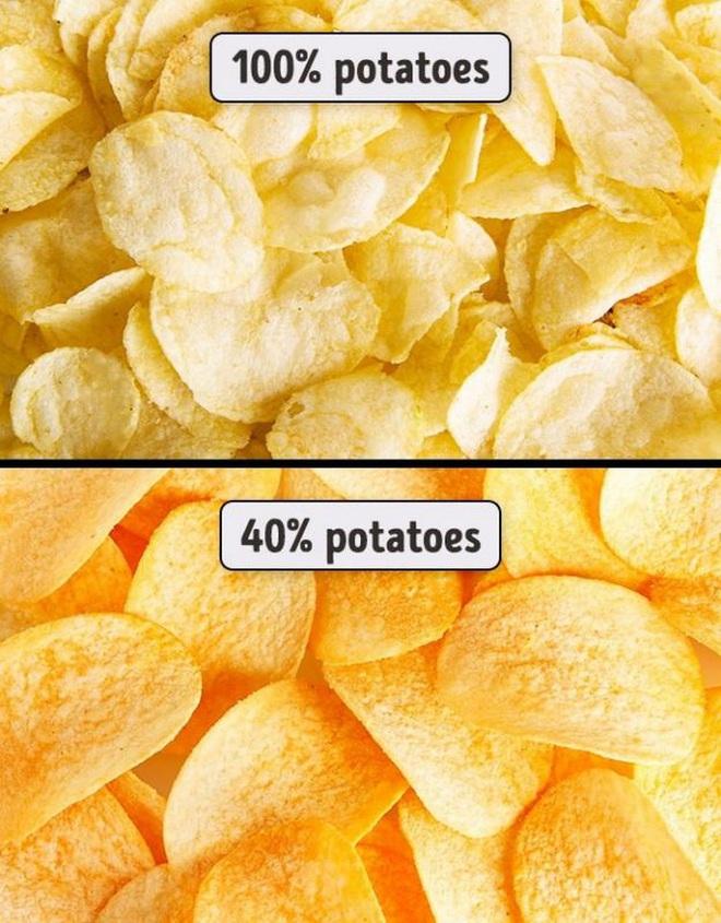 12 lời nói dối kinh điển nhất mọi thời đại: Khoai tây chiên đóng gói làm từ khoai tây 100% - Ảnh 7.