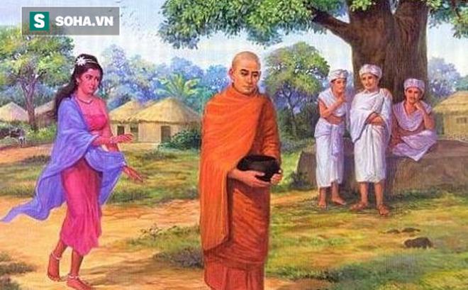 Môn đồ bị cô gái trẻ đẹp đeo bám, Đức Phật bảo cô gái làm 1 việc khiến cô gái từ bỏ ý định