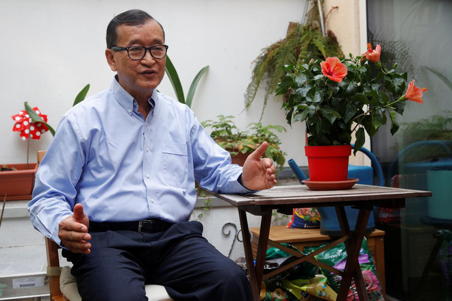 Campuchia điều quân sát biên giới Thái Lan, sẵn sàng bắt Sam Rainsy vì tội về nước âm mưu đảo chính - Ảnh 2.