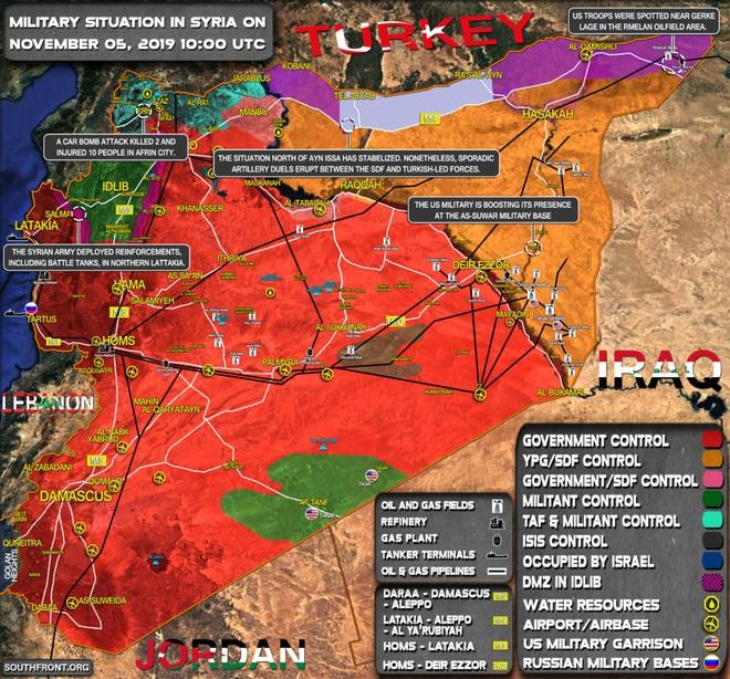 Tàu chiến, máy bay tiêm kích Nga ồ ạt xuất kích và phóng đạn ở Đông Địa Trung Hải - Syria sôi sục - Ảnh 8.