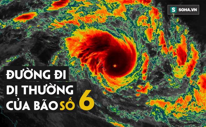 Bão số 6 giật cấp 14 sắp tấn công đất liền, bão sẽ đánh vùng nào nước ta?