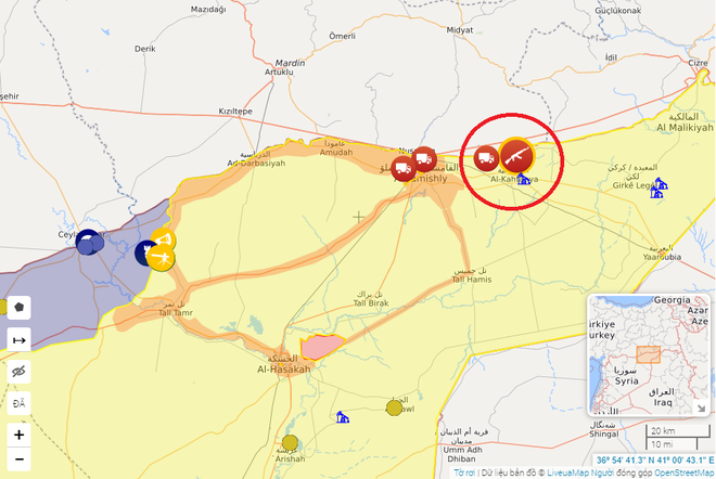 Tàu chiến Nga nã pháo rung chuyển Địa Trung Hải, quân cảnh ở Syria bị tấn công tới tấp - Người Kurd trở cờ - Ảnh 8.