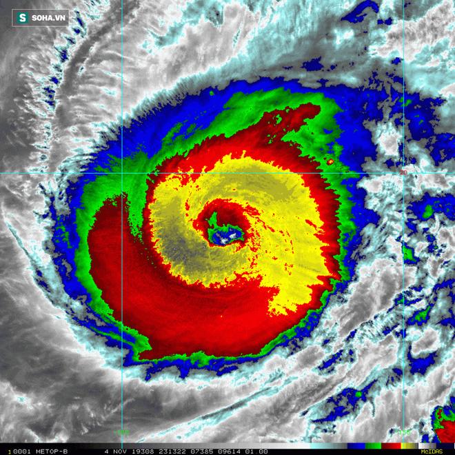 Siêu bão Hạ Long: Lột xác thành siêu bão 'quái vật', mạnh bậc nhất lịch sử vệ tinh thời tiết - ảnh 2