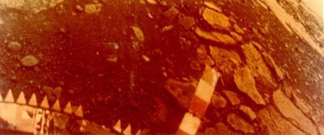 Những hình ảnh bề mặt sao Kim đầu tiên từ hành trình lịch sử Venera - Ảnh 2.