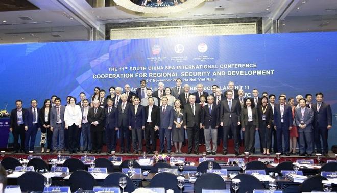 Hội thảo Biển Đông: Đơn phương diễn giải luật pháp quốc tế làm xói mòn thượng tôn pháp luật - Ảnh 1.