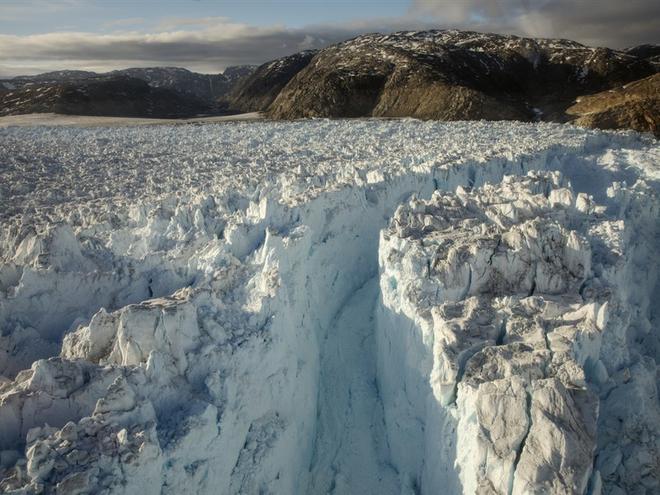 Những hình ảnh đáng báo động về sự biến mất của các dòng sông băng - Ảnh 1.
