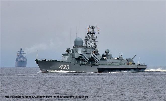 Nga nâng cấp hàng loạt tàu tên lửa Nanuchka cho Hạm đội Thái Bình Dương - Ảnh 1.