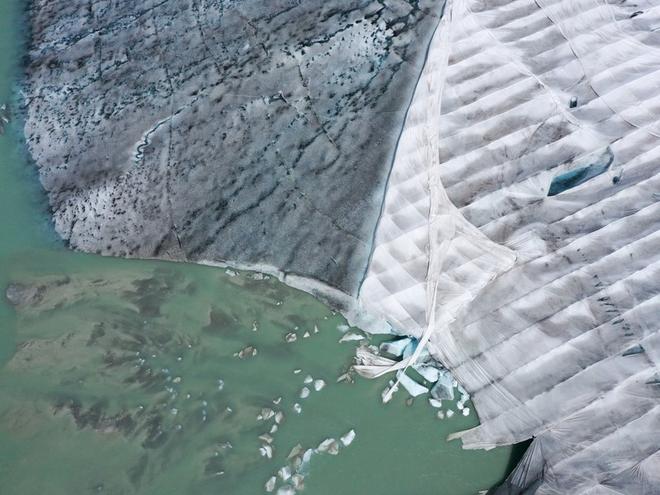 Những hình ảnh đáng báo động về sự biến mất của các dòng sông băng - Ảnh 9.