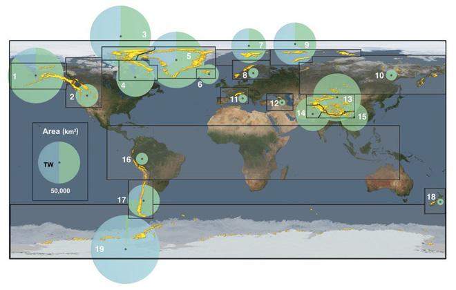 Những hình ảnh đáng báo động về sự biến mất của các dòng sông băng - Ảnh 6.