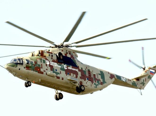 Ngấm đòn từ Ukraine, Nga xót xa nhìn trực thăng lớn nhất thế giới phải nằm đất - ảnh 11