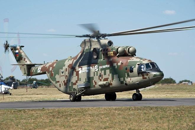 Ngấm đòn từ Ukraine, Nga xót xa nhìn trực thăng lớn nhất thế giới phải nằm đất - ảnh 12