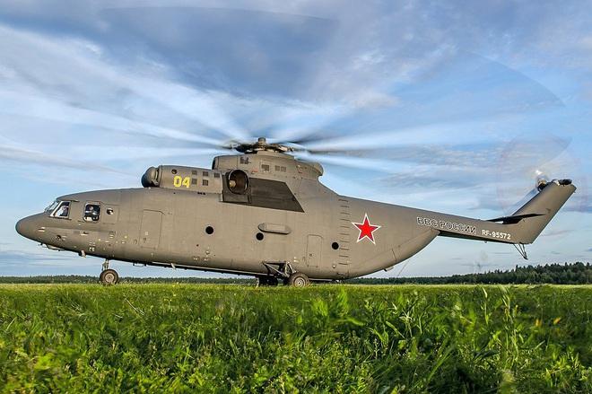 Ngấm đòn từ Ukraine, Nga xót xa nhìn trực thăng lớn nhất thế giới phải nằm đất - ảnh 13