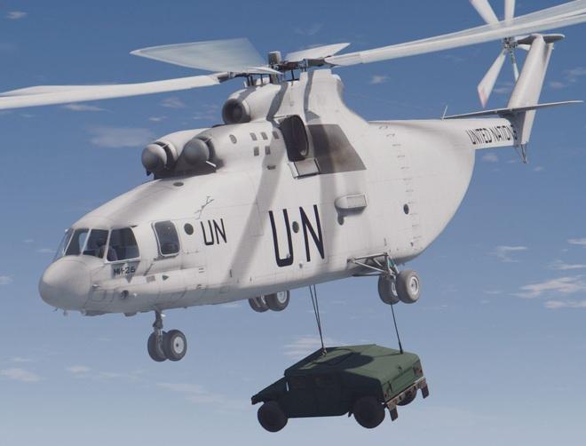 Ngấm đòn từ Ukraine, Nga xót xa nhìn trực thăng lớn nhất thế giới phải nằm đất - ảnh 14