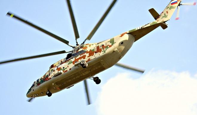 Ngấm đòn từ Ukraine, Nga xót xa nhìn trực thăng lớn nhất thế giới phải nằm đất - ảnh 15