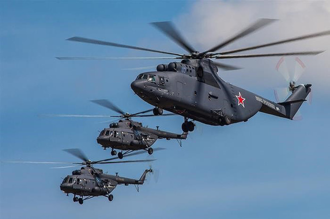 Ngấm đòn từ Ukraine, Nga xót xa nhìn trực thăng lớn nhất thế giới phải nằm đất - ảnh 18