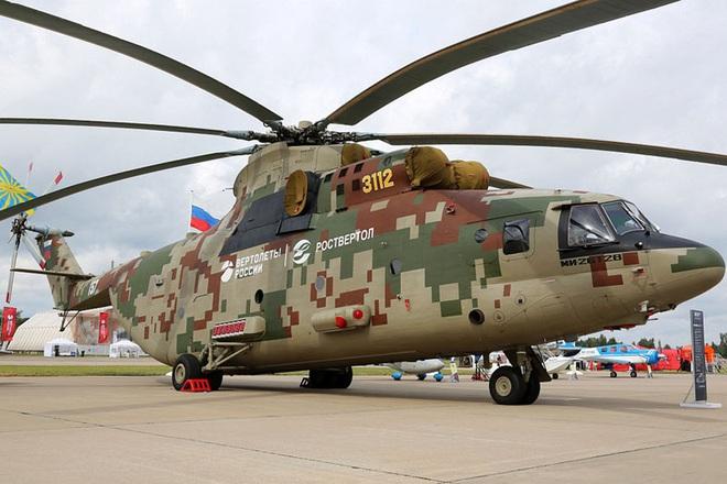 Ngấm đòn từ Ukraine, Nga xót xa nhìn trực thăng lớn nhất thế giới phải nằm đất - ảnh 3