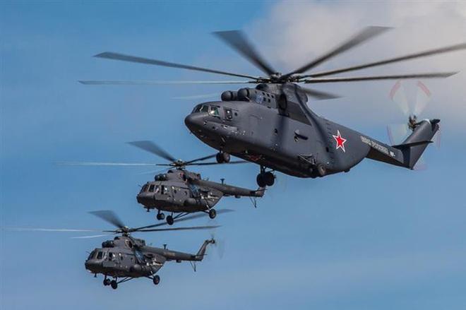 Ngấm đòn từ Ukraine, Nga xót xa nhìn trực thăng lớn nhất thế giới phải nằm đất - ảnh 5