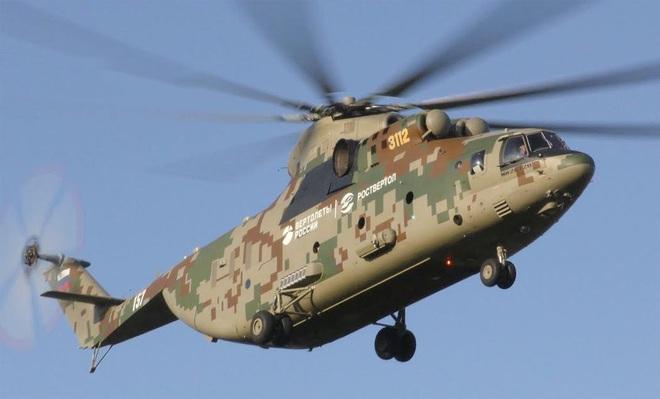 Ngấm đòn từ Ukraine, Nga xót xa nhìn trực thăng lớn nhất thế giới phải nằm đất - ảnh 6
