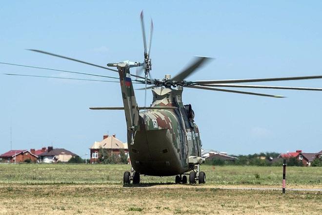 Ngấm đòn từ Ukraine, Nga xót xa nhìn trực thăng lớn nhất thế giới phải nằm đất - ảnh 9