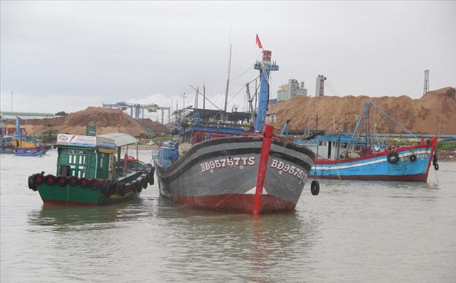 Bình Định: Còn 7 tàu cá với 51 ngư dân trong vùng nguy hiểm của bão số 6