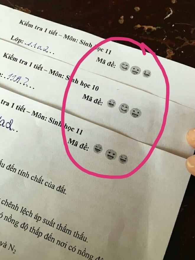 Thầy cô cao tay in ngay mã đề bá đạo, học sinh muốn hỏi nhau cũng phải bó tay - ảnh 2