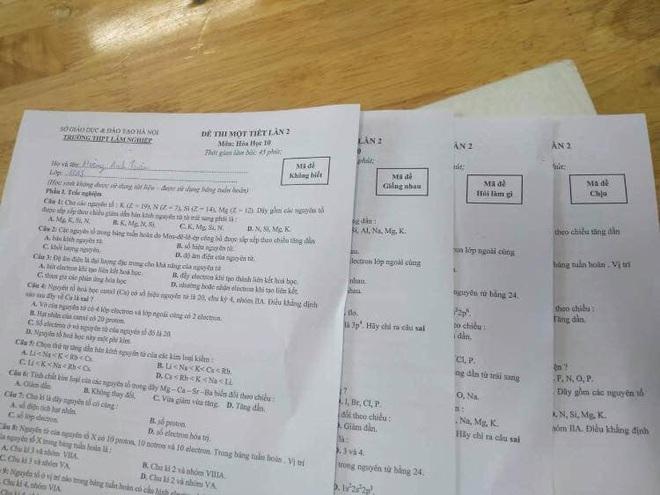 Thầy cô cao tay in ngay mã đề bá đạo, học sinh muốn hỏi nhau cũng phải bó tay - ảnh 6