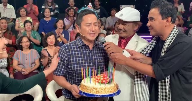 NSƯT Chí Trung bật khóc trong trường quay, Quang Thắng nói một câu bất ngờ - ảnh 3