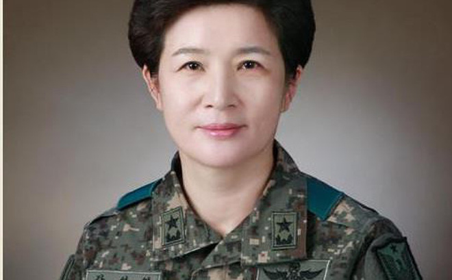 Hàn Quốc có nữ tướng hai sao đầu tiên trong lịch sử