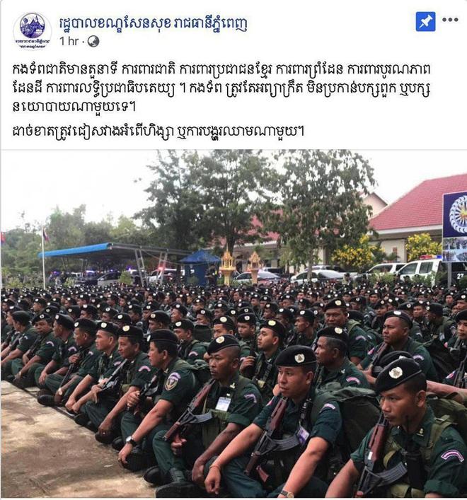 Facebook các cơ quan nhà nước và lãnh đạo quân đội Campuchia bị hack - ảnh 1