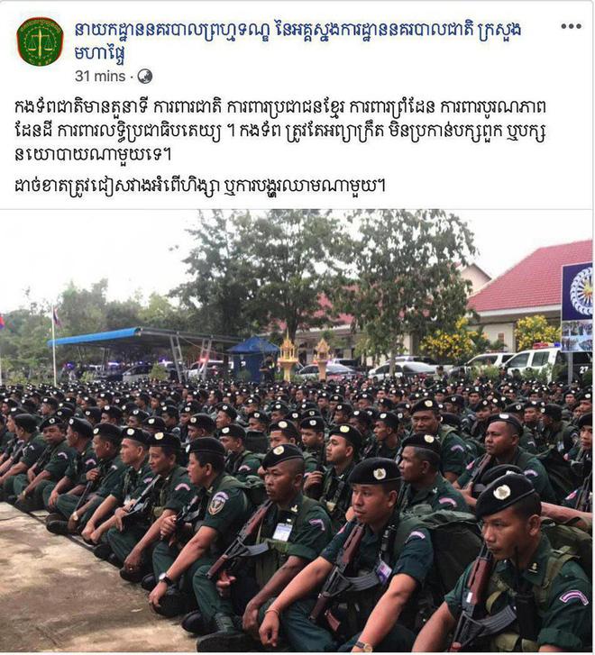 Facebook các cơ quan nhà nước và lãnh đạo quân đội Campuchia bị hack - ảnh 2