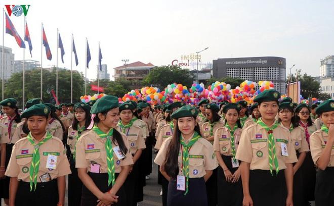 Campuchia kỷ niệm 66 năm ngày Quốc khánh - ảnh 3