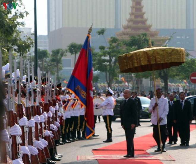 Campuchia kỷ niệm 66 năm ngày Quốc khánh - ảnh 4