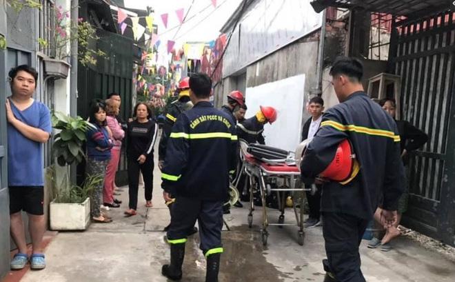 Cháy nhà lúc rạng sáng ở Hà Nội khiến 3 bà cháu tử vong