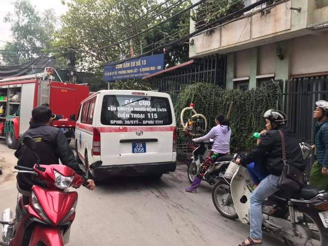Nhân chứng kể vụ cháy khiến 3 bà cháu tử vong ở Hà Nội: Họ đã cố gắng thoát ra ngoài nhưng bất thành... - Ảnh 2.
