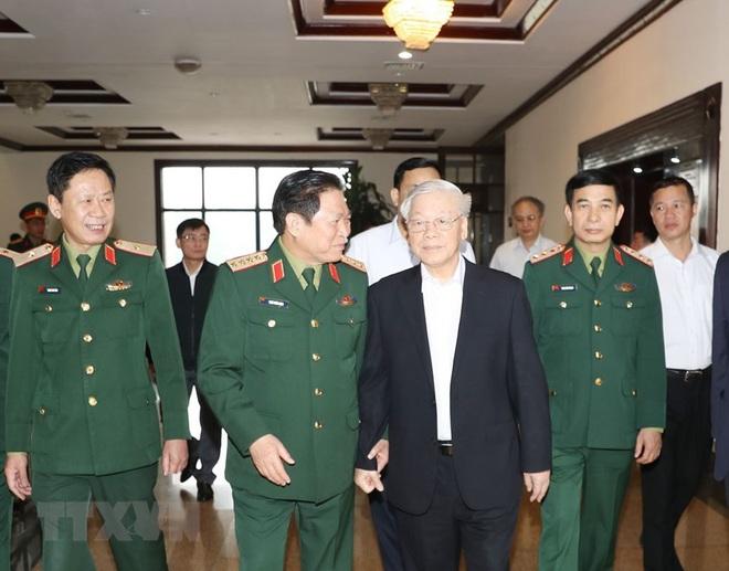 Tổng Bí thư chủ trì Hội nghị Tổng kết công tác quân sự, quốc phòng - Ảnh 1.