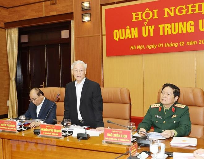 Tổng Bí thư chủ trì Hội nghị Tổng kết công tác quân sự, quốc phòng - Ảnh 3.