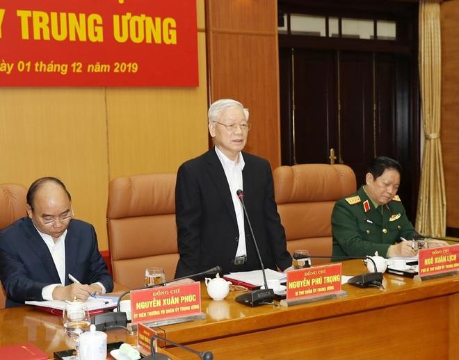 Tổng Bí thư chủ trì Hội nghị Tổng kết công tác quân sự, quốc phòng - Ảnh 4.