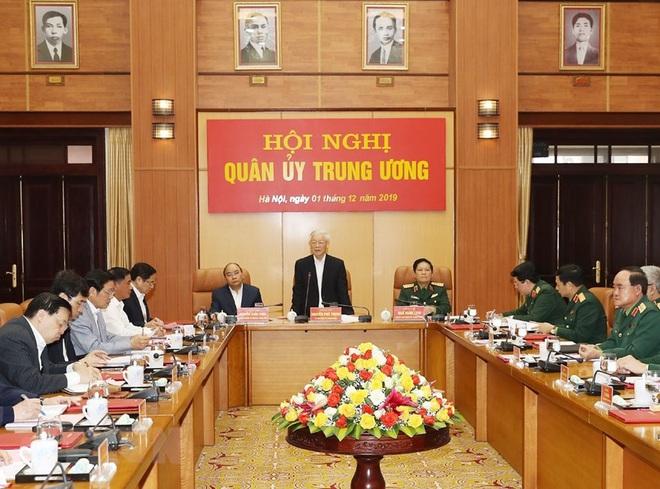 Tổng Bí thư chủ trì Hội nghị Tổng kết công tác quân sự, quốc phòng - Ảnh 5.