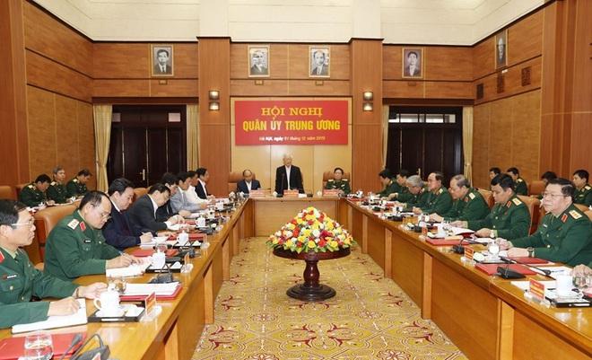 Tổng Bí thư chủ trì Hội nghị Tổng kết công tác quân sự, quốc phòng - Ảnh 6.