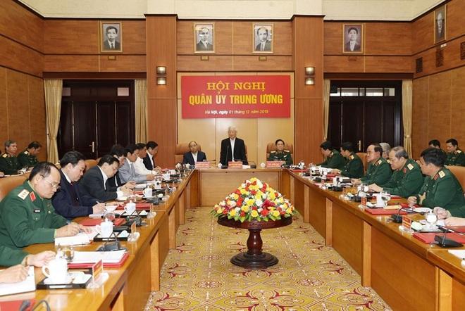 Tổng Bí thư chủ trì Hội nghị Tổng kết công tác quân sự, quốc phòng - Ảnh 7.