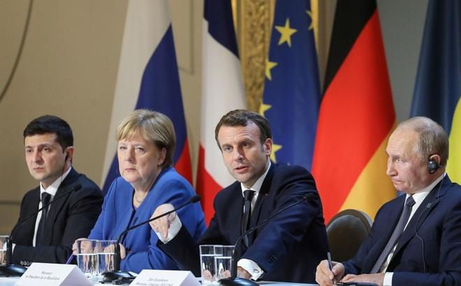 Hai ông Putin-Zelensky gặp riêng, ăn tối ở Paris: Sẽ trao đổi tù binh, ngừng bắn ở Donbass