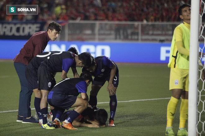 Khiến Campuchia lỡ hẹn với HCĐ SEA Games, sao gốc Việt khóc nức nở giữa cảnh đầy trớ trêu - Ảnh 8.