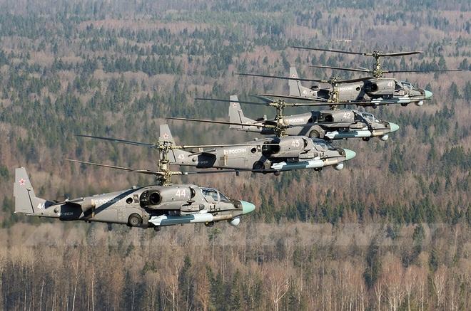 Báo Mỹ: Trực thăng Ka-52 Nga nguy hiểm chết người  ở Syria - Phiến quân khiếp sợ - Ảnh 3.