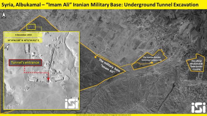 CẬP NHẬT: Phát hiện hầm ngầm chứa tên lửa khổng lồ của Iran tại Syria - ảnh 1