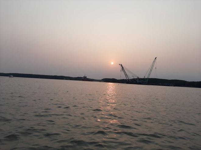 Tìm thấy 1 thi thể trong vụ 3 thợ lặn mất tích khi trục vớt tàu chìm trên sông Lòng Tàu - Ảnh 4.