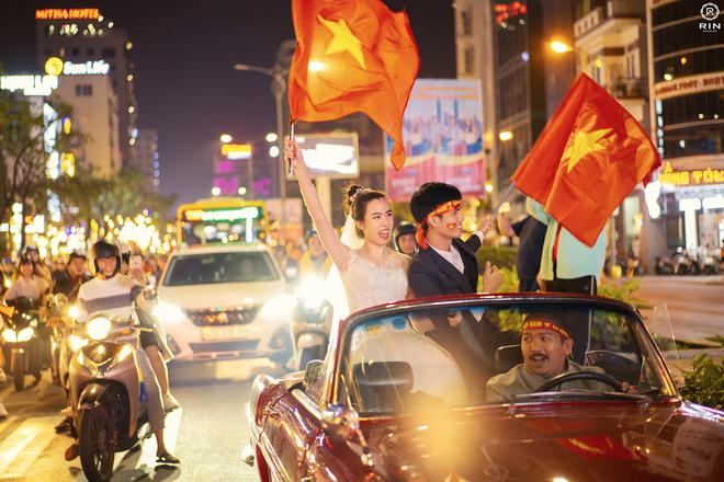 Việt Nam giành HCV SEA Games 30, cặp đôi lên đồ đi bão rồi chụp luôn ảnh cưới - ảnh 8